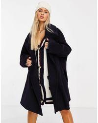 Tommy Hilfiger Черное Oversized-пальто Collections-черный