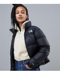 The North Face - Womens 1996 Retro Nuptse Jacket In Black - Lyst