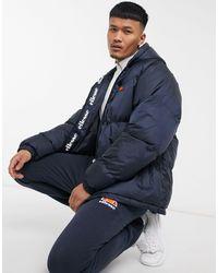 Ellesse Mancuso Puffer Jacket - Blue