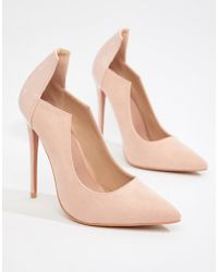 Lost Ink - High Cut Court Shoes - Lyst