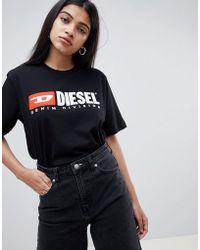 DIESEL - Heritage Logo T Shirt - Lyst