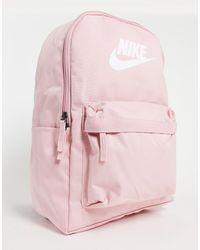 Nike Розовый Рюкзак Heritage-розовый Цвет