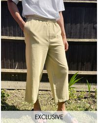 Collusion Pantalon militaire style skateur - Taupe - Multicolore