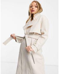 4th & Reckless Trench-coat avec ceinture - Neutre