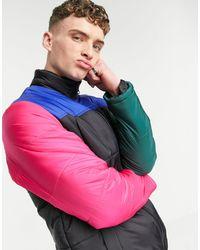 Wesc Piumino color block - Nero