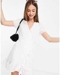 Mango Vestido - Blanco