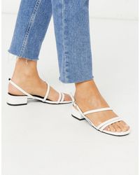 Raid Wide Fit Ruchi Mid Heeled Sandals - Multicolour
