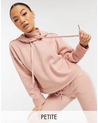Noisy May - Розовый Худи С Высоким Воротником От Комплекта -розовый Цвет - Lyst