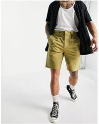 Dickies Cobden - pantaloncini kaki - Verde