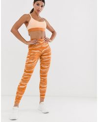 adidas Originals Adidas Wanderlust Printed leggings - Orange