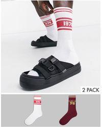 ASOS - Спортивные Носки С Университетской Символикой В Стиле Ретро - Lyst