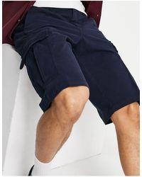 Timberland Ultrastretch Cargo Shorts - Blue