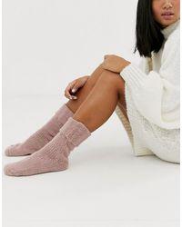 ASOS Comodi calzini da casa - Rosa