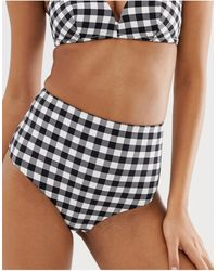 & Other Stories High Waist Bikini Briefs - Black