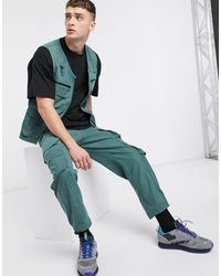 The Ragged Priest Co-ord Utility Trousers - Green