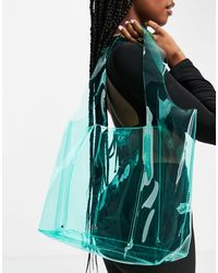 Call It Spring By Aldo Conlee Oversized Tote - Green