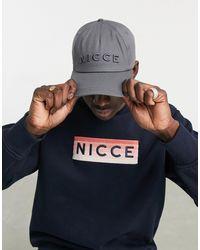 Nicce London Argon Logo Cap - Gray