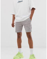 ASOS Short en jersey ajusté avec poche MA1 - Gris