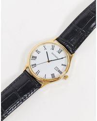 Sekonda Leather Watch - Black