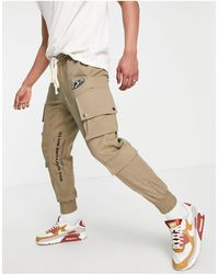 The Couture Club Cuffed Cargo joggers - Green