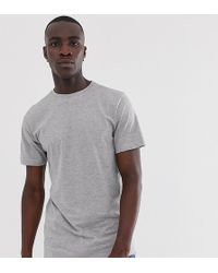 Jacamo - Crew Neck T-shirt In Grey Marl - Lyst