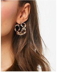 ASOS Hoop Earrings - Metallic