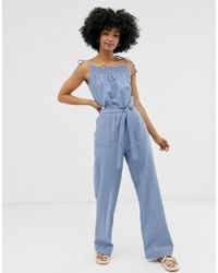 M.i.h Jeans All In One Tuinbroek - Blauw