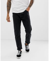 Bershka Slim Fit Jeans - Black