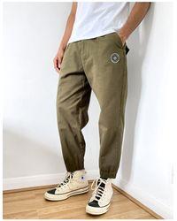 Religion Pantalon style charpentier - Olive foncé - Vert