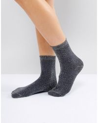 Weekday - Lurex Socks - Lyst