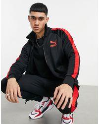 PUMA - Черная Спортивная Куртка T7-черный Цвет - Lyst