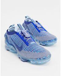 Nike Кроссовки Air Vapormax 2020 Flyknit (синий Камень / Глубокий Королевский)-голубой