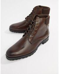 1a2062b3 Caterpillar Caterpillar Ryker Leather Boots in Green for Men - Lyst