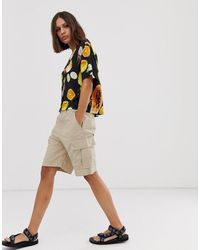 Weekday – Cargo-Shorts - Natur