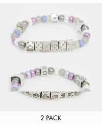 ASOS Set Van Kitsch Armbanden - Meerkleurig