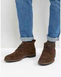 Levi's - Huntington Suede Boots In Brown - Lyst