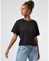 Miss Selfridge Camiseta negra - Negro