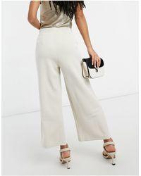 SELECTED Tenny - Pantaloni corti a fondo ampio - Multicolore