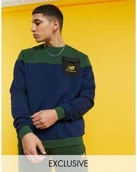 New Balance Cut & Sew Sweatshirt - Multicolor