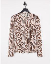 Pieces Camiseta con estampado - Multicolor