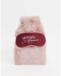 Hunkemöller Подарочный Набор Из Грелки И Маски Для Сна Розового Цвета -розовый - Многоцветный