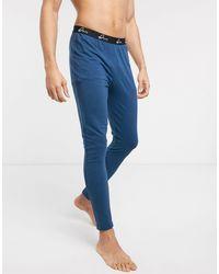 ASOS Lounge-pyjama-megging - Blauw