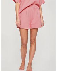 Miss Selfridge Pijama corto rosa