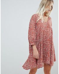 Weekday - Unstructured Dress With Pocket Detail - Lyst