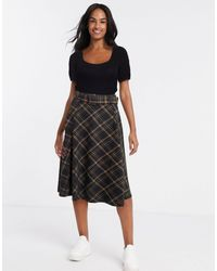 New Look Belted Midi Skirt - Black