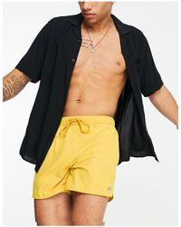 Pull&Bear Swim Shorts - Yellow