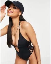 DORINA Kenya Cut Out Swimsuit - Black