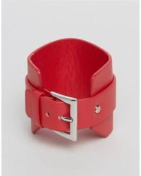 Monki - Buckle Bracelet - Lyst