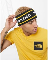 The North Face Желтая/черная Двусторонняя Повязка На Голову Chizzler-желтый