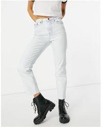 TOPSHOP - Straight Leg Jeans - Lyst
